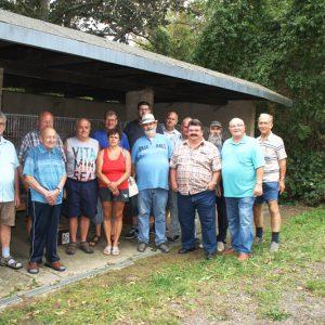 Gruppenfoto der Anwesenden Züchter