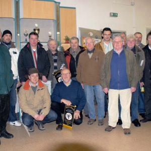 Gruppenfoto der Perückentaubenzüchter 2011