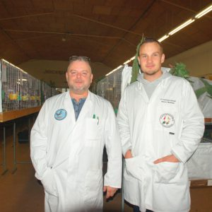 die Preisrichteranwärter Zfr. Hrobom und Zfr. Martinke